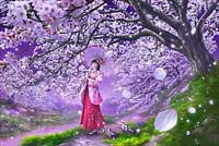 桜風 1000ピース