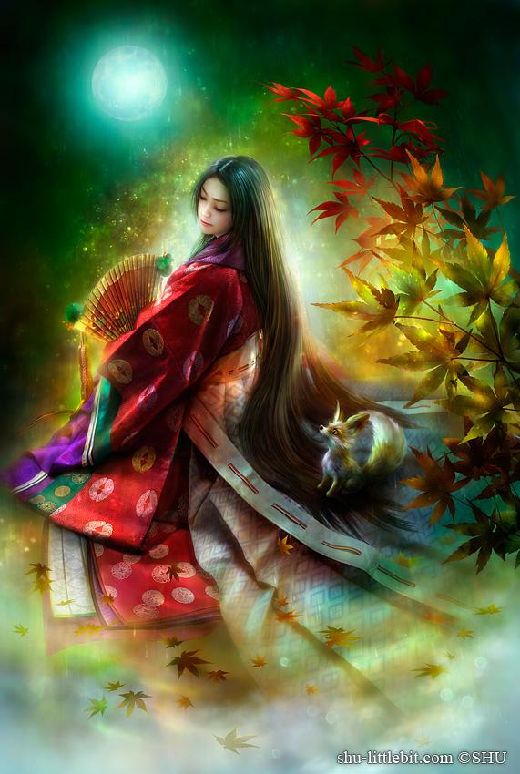 紅珠藻姫 -くずもひめ-