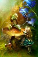 芋虫とアリス